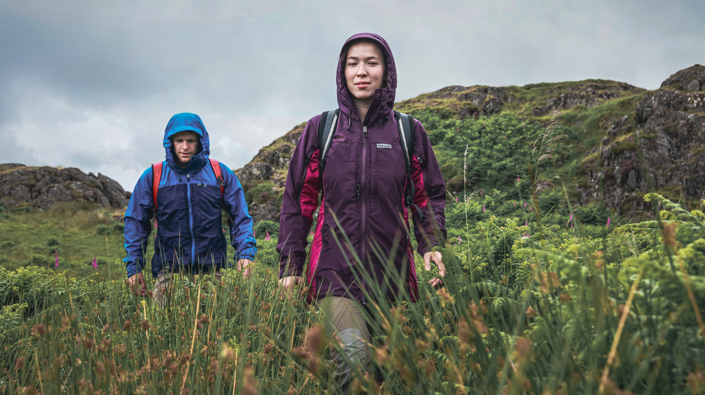 WARM AND DRY IN THE HARSHEST CONDITIONS<br/>Fast recovery clothing for high intensity and endurance activities.